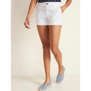 Old Navy Women's White Shorts 6